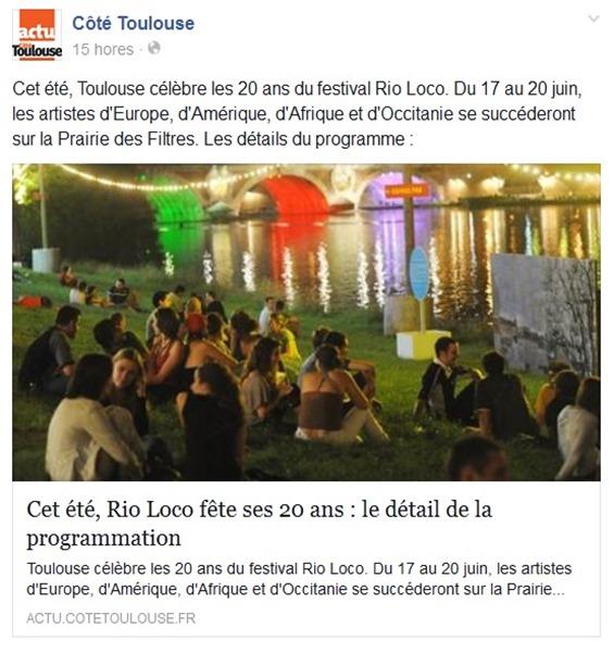 Rio Loco lo programa