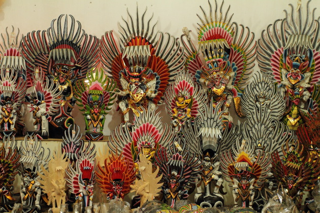 The Garudas of Bali, Indonesia