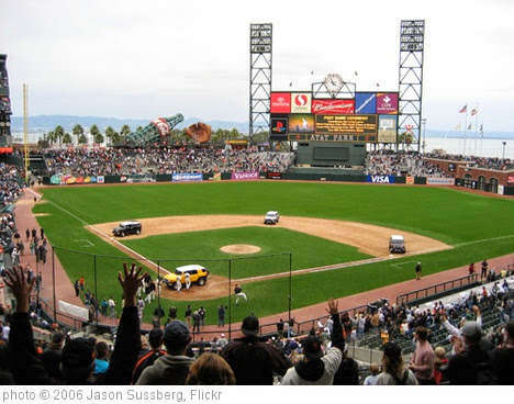 'AT&T Park' photo (c) 2006, Jason Sussberg - license: https://creativecommons.org/licenses/by/2.0/