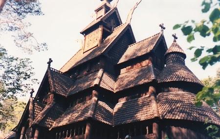 Obiective turistice Oslo: Muzeul satului norvegian