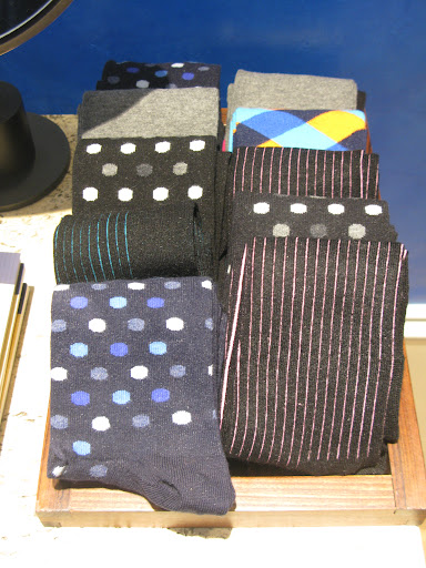 Fun socks available for the guys