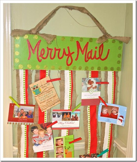 christmas card display 7