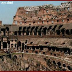 70 - Anfiteatro flavio o Coliseo de Roma (Interior)