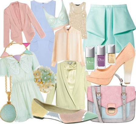Pretty pastels