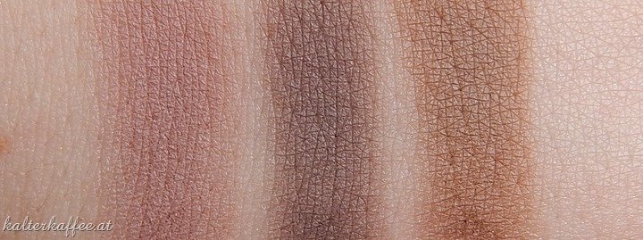 NYX Hot Single Eyeshadows Coquette Over The Taupe Happy Hour swatches