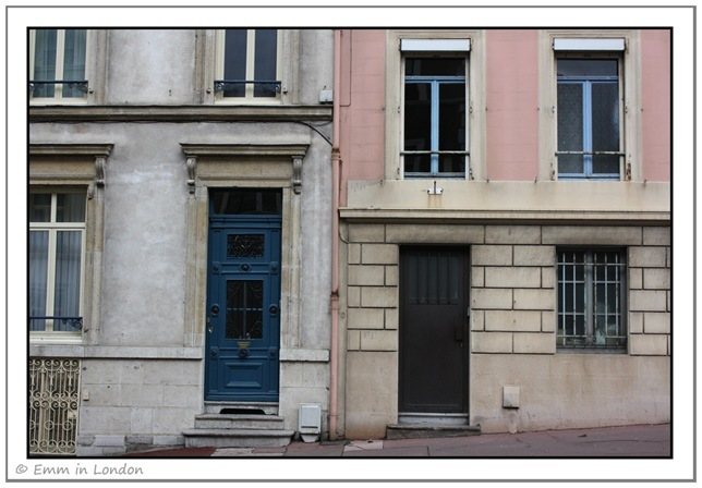 Windows and Doorways of Boulogne France 5