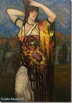 Bailarina - Gustavo de Maeztu - Museo de Bellas Artes de Vitoria