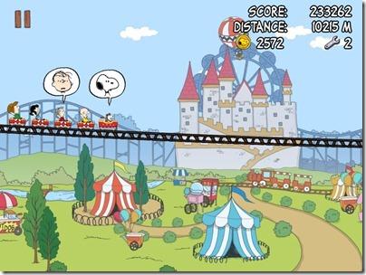 Snoopy coaster 04