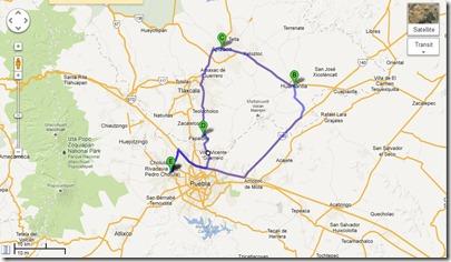 puebla road trip