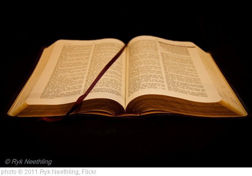 'Open Bible' photo (c) 2011, Ryk Neethling - license: https://creativecommons.org/licenses/by/2.0/