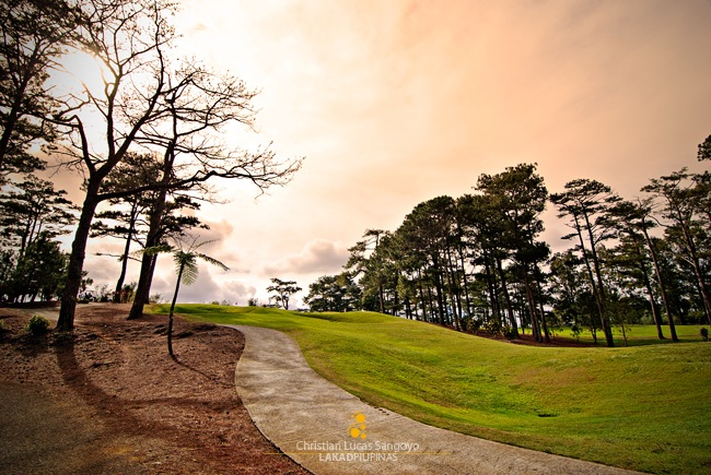 Inside Camp John Hay's Golf Course