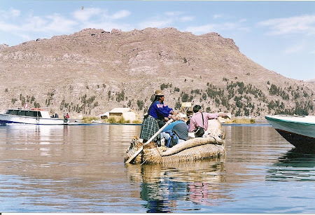 Things to do in Titicaca: boat journey