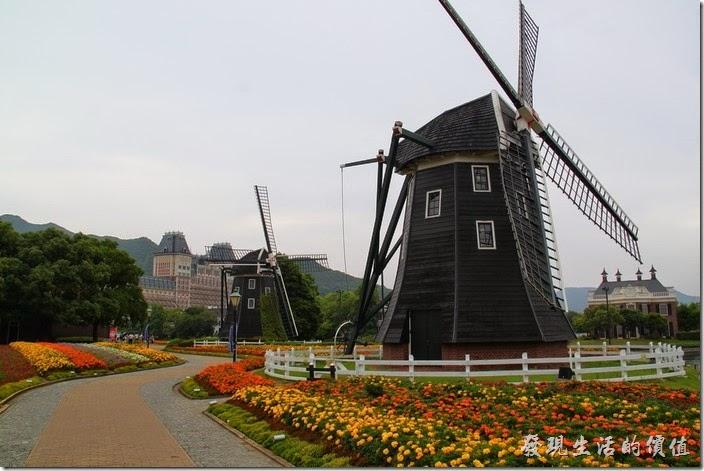 日本北九州-豪斯登堡。花卉道路這裡的美景真的很棒呢!