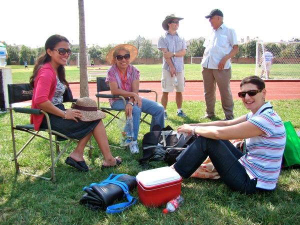 En el picnic del colegio, Sept 2011