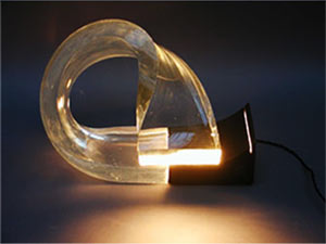 Acrilica lamp, variety not put into production