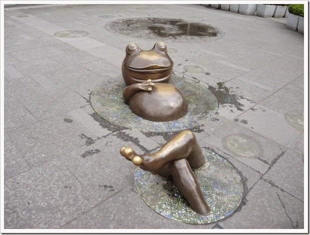 大安森林站-台北樹蛙