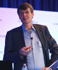Thorsten Heins at the Tech Leadership Conference 2013 (photo from Communitech on Facebook)