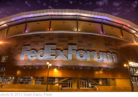 'FedEx Forum' photo (c) 2012, Sean Davis - license: http://creativecommons.org/licenses/by-nd/2.0/