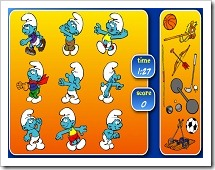 Os-smurfs-desportistas1
