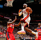 lebron james nba 130106 mia vs was 02 King James Debuts LBJ X Portland PE But Ends Scoring Streak