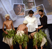 Filmmaker Rakeysh Omprakash Mehra and music director Shailendra Barve during music release of  Ek Ha2013_8.jpg