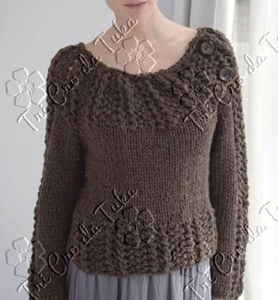 Seed & Lace Pullover