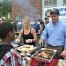 Community BBQ at Mount Olivet in Peekskill