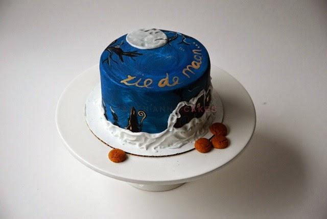 Sint taart geverfd (Kopie)
