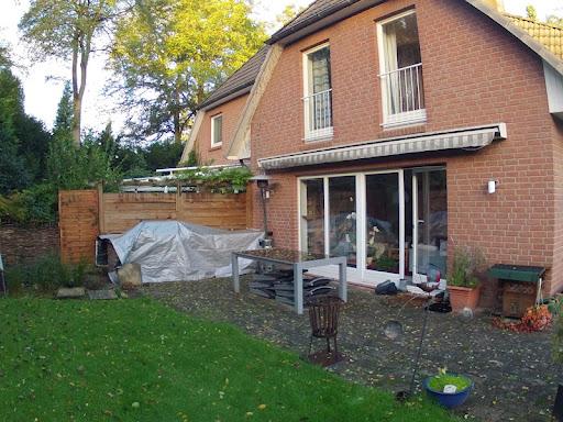 Außenküche Mit überdachung : Projekt außenküche und jetzt ein dach
