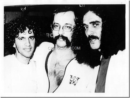 Caetano Veloso, Paulo Leminski e Moraes Moreira