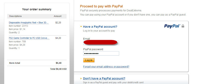 Cara Mencairkan Paypal Unverified, Belanja Saja Lewat DealExtreme.com