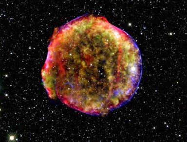 remanescente de supernova Tycho