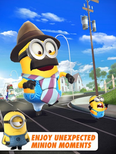 Download Despicable Me: Minion Rush now