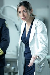 "Arlene Tur is Dr Vera Juarez in Torchwood: Miracle Day - ""The New World"""