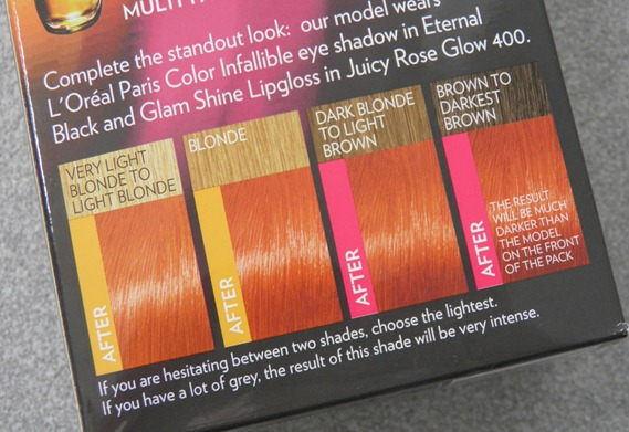 LOREAL MANGO INTENSE COPPER FERIA 2