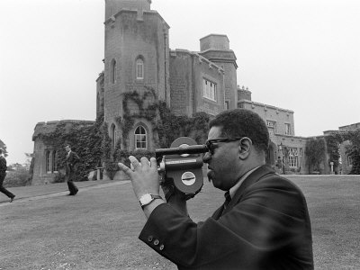 Dizzy Gillespie Jazz Man July 1963 at Fort Belvedere Near Ascot 5.jpg