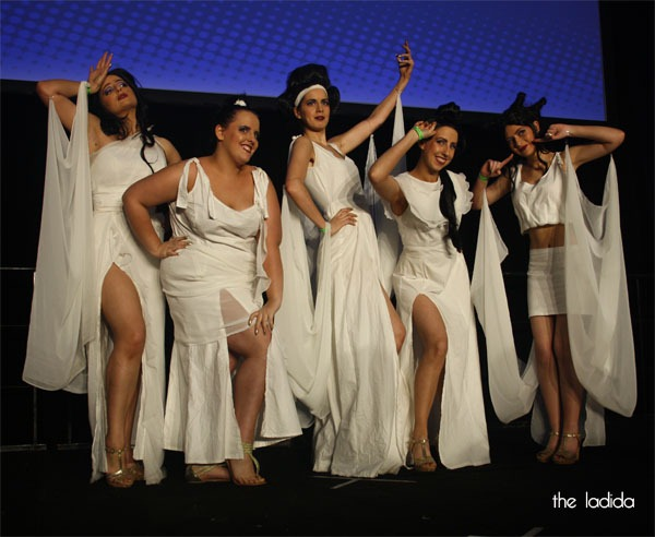 Supanova Sydney 2013 - Madman Cosplay Competition Saturday - Hercules Muses - Muses, Calliope, Clio, Melpomone, Terpsicore, Thalia