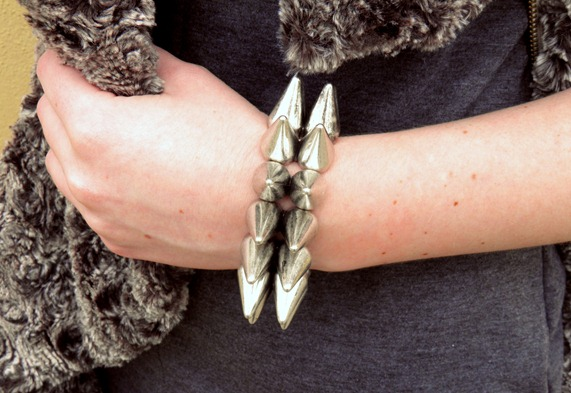 OASAP spiked bracelet