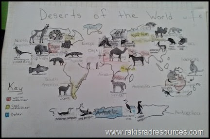 Deserts of the world unit: habitats, adaptations, desert plants and desert animals - all covered in theis all inclusive unit from Raki's Rad Resources.