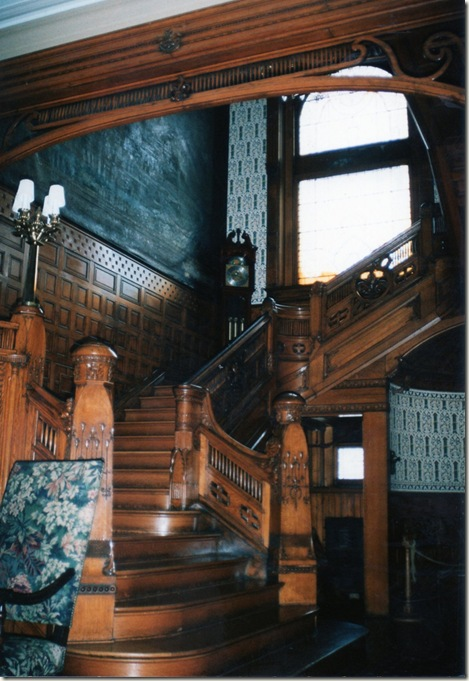 Old world stairway