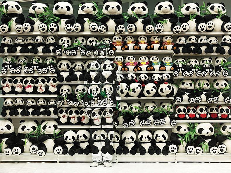 Liu_Bolin_HITC_No.99_Panda_2012