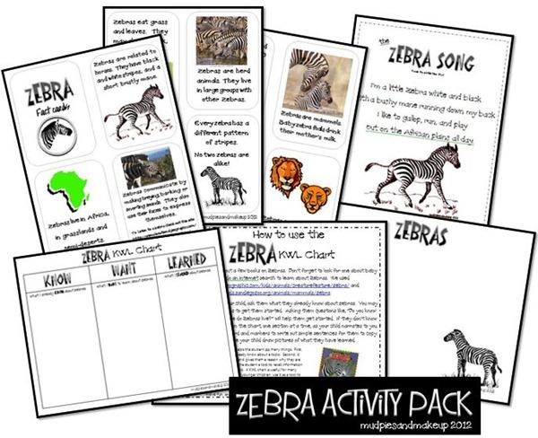 Zebra collage1