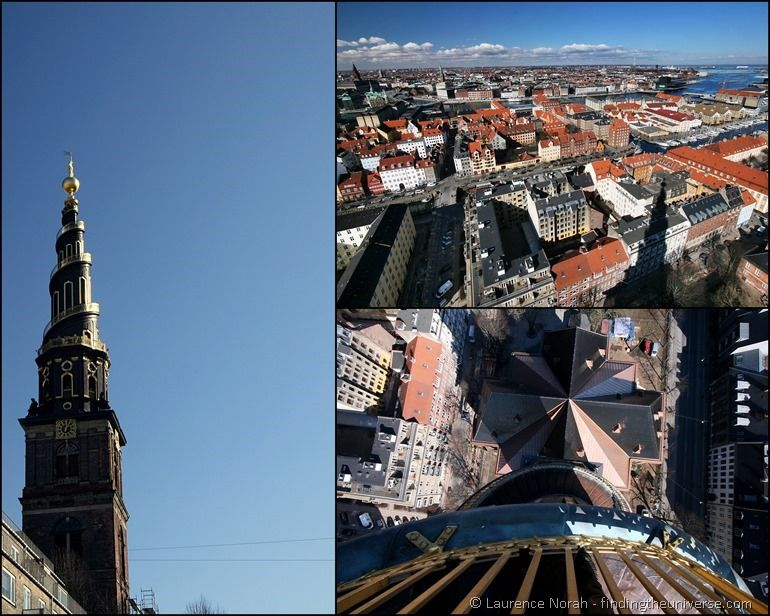 Christianshavn Kirchturm Kopenhagen Collage