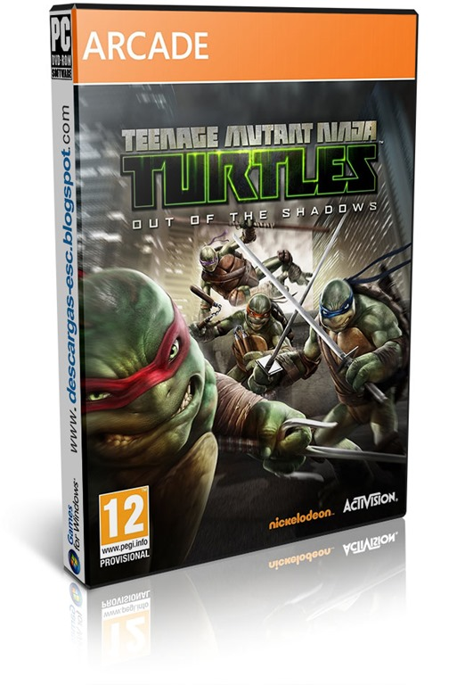 Teenage Mutant Ninja Turtles Out of the Shadows-FLT | 2013 | Multi| MEGA-Putlocker-Zippyshare-Gamefront+