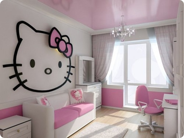 HELLO-KITTY-BEDROOM