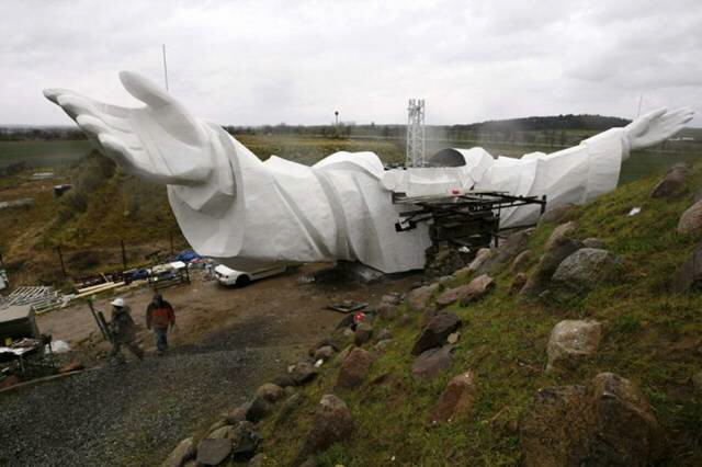 World's largest Jesus Christ Statue in Swiebodzin(Poland)