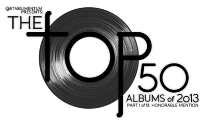 The Top 50 Albums of 2013, Part 1