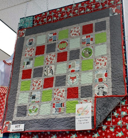 Outfoxed quilt and kit available from The Fabric Mill