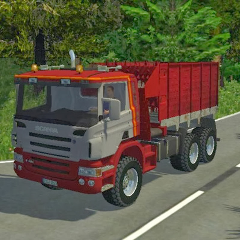Farming simulator 2013 - Scania P420 Mixer v 1.0