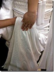 花嫁衣裳の着付け (3)